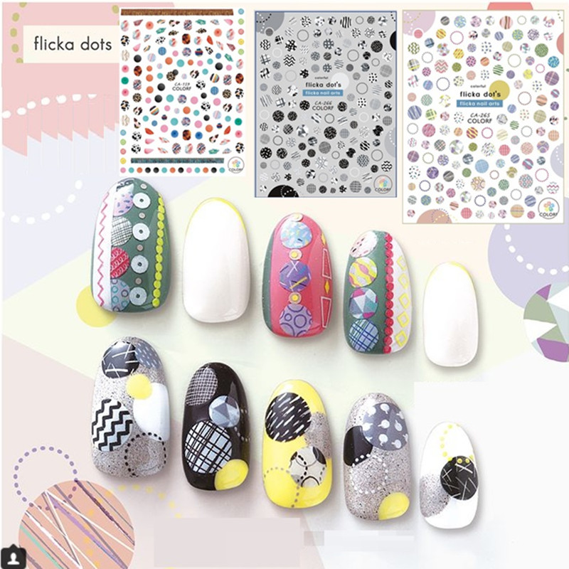CA 209 210 224 245 Retro flower 3d nail art stickers decal template diy nail tool decorations in Stickers Decals from Beauty Health