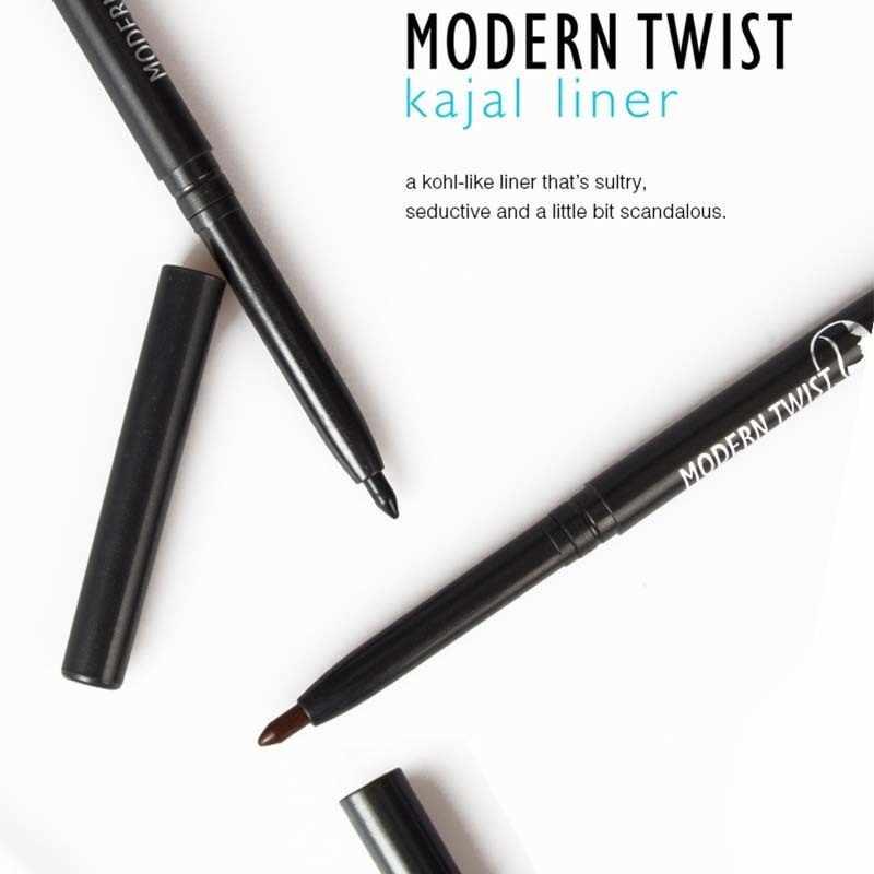 MENOW メイク液体アイライナー高速クイックドライツイスト自然 Kajal 鉛筆の着やすい持続アイライナー化粧品ツール