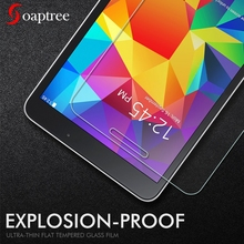 цена на Full Covers 9H Tempered Glass For Samsung Galaxy Tab 4 8.0 T330 T331 Tab4 T333 T335 8.0 inch Screen Protector Protective Film