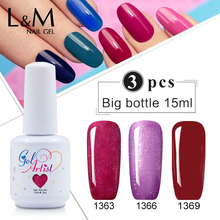 24pcs free shipping Pure Colors 1 SET Nail Art UV Gel Lamp primer Free nail gel polish (22colors+1top+1base)