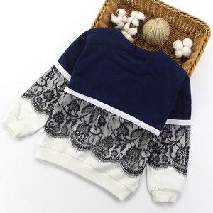 Image 3 - Спортивный костюм Artishare для девочек, зимняя и весенняя кружевная Одежда для девочек подростков, одежда для девочек 8, 10, 12, 14 лет