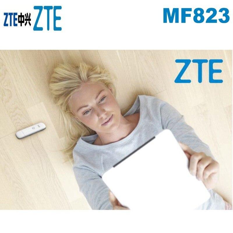 2019 Neuestes Design Original Entsperrt Zte Mf823 3g 4g Usb Lte Dongle Modem 100 Mbps Daten Karte Mobile Broadband Stick Plus 2 Stücke Externe Antenne