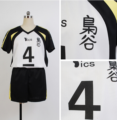 2016  Hot Anime Haikyuu Fukurodani Uniform Bokuto Koutarou Haikyuu Jersey Cosplay Costume For Men Women