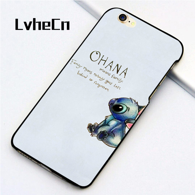 Cellphones & Telecommunications Phone Bags & Cases Intellective Lvhecn 5 5s Se Phone Cover Cases For Iphone 6 6s 7 8 Plus X Back Skin Shell Ohana Family Lilo Stich Stitch