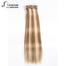 Joedir Color del pelo P1b / 30 brasileño Remy paquetes de cabello humano Yaki Straight Hair Weave Piano Colors Blonde Bundles envío gratis