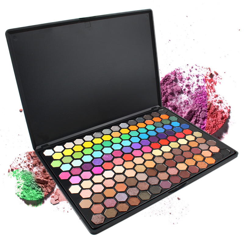 Hot 149 Color Shadow Palette Set Eye Shadow Professional Full Color Flash Makeup Paint Shimmer Matte Large Size Eye Makeup Set professional cosmetic makeup 15 color eye shadow palette black