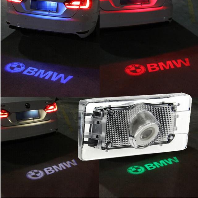 1 x LED Luzes Da Placa de Licença Do Carro Luzes Da Placa de Licença Do Carro Do Laser Sombra Logotipo Projetor levou PARA BMW M f10 f15 f25 f30 x1 x3 x5