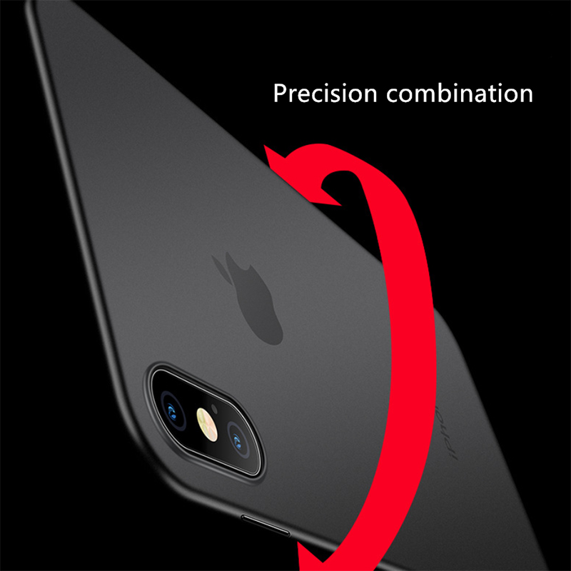 0 03 Fitted Case For iphone xr case Capinhas Ultra Thin Slim Soft PP Silicone Cover Case For iphone x case iphone 7 case 8 6 5s