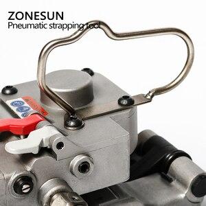 Image 5 - ZONESUN AQD 25 นิวเมติกสายรัดพลาสติกเครื่องมือสำหรับ PP ต่อเทป