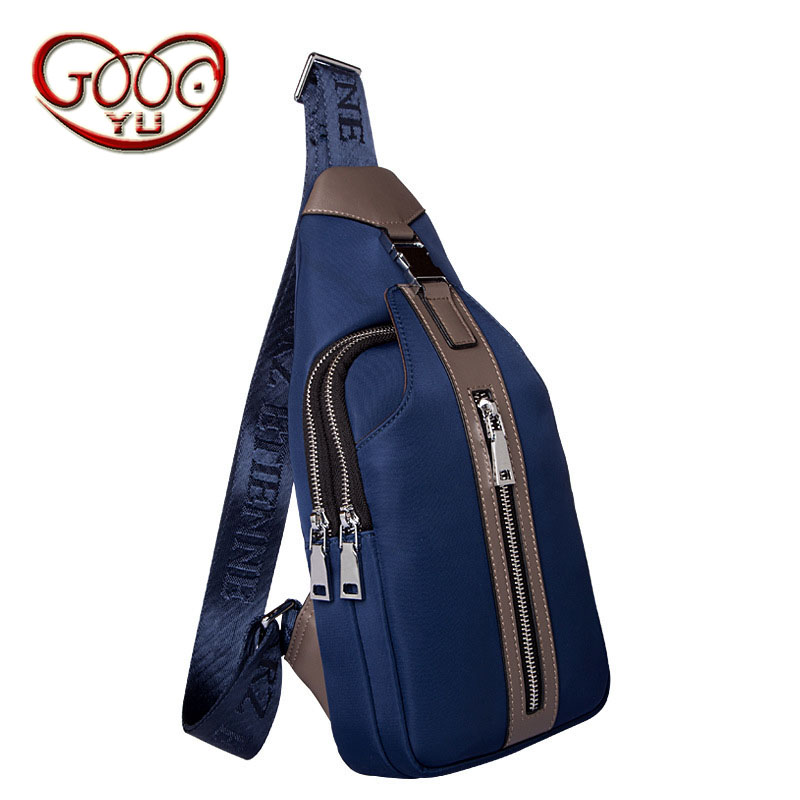 Mens Oxford cloth Messenger bag Korean version of the wind style vertical paragraph waterproof chest bag and leisure menMens Oxford cloth Messenger bag Korean version of the wind style vertical paragraph waterproof chest bag and leisure men