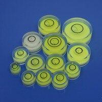 Пузырьковый уровень круговой Инклинометр 19 мм * 10 мм уровень box измерения Инструменты Пузырькового Уровня Nivel Burbuja