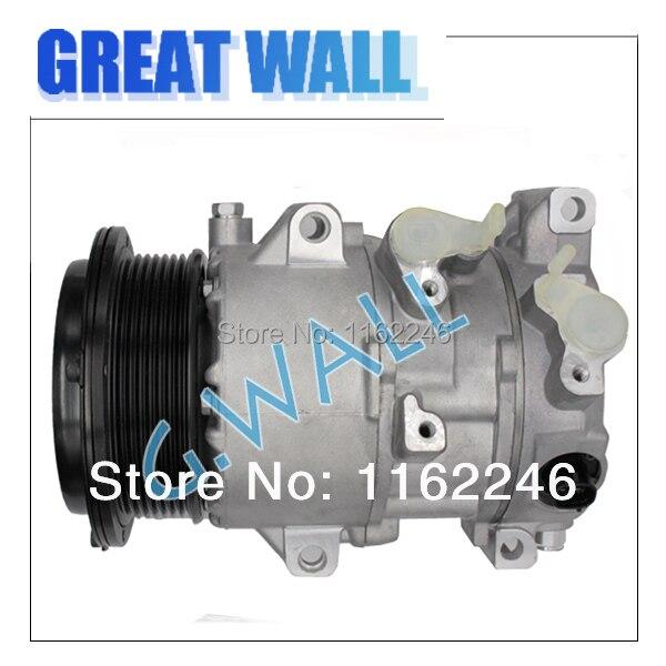 A/C Compressor For Car Toyota RAV4 2.4L 2005-2008 Car Toyota Camry 2.4L 2007-2009 8831006240 88310-06240 8831033250 88310-33250