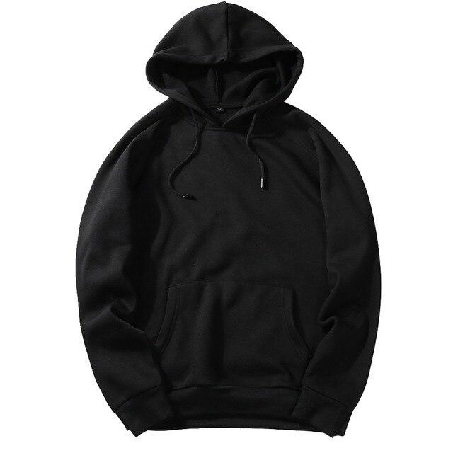 Fashion Hoodies Male Warm Fleece Coat Hooded Men Brand Hoodies Sweatshirts 15