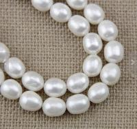 Perfect Large Pearl Strand 11 12mm Rice Pearl Beads Genuine Freshwater Pearl Loose Beads