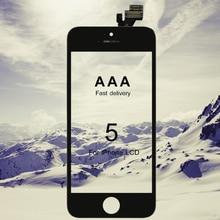 10 Pcs Grade Aaa Voor Iphone 5 Lcd 100% Montage Scherm Vervanging Geen Dode Pixel Met Touch Screen Snelle verzending