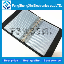 Resistor Capacitor Inductor IC SMD Components Empty Sample Book For 0402/0603/0805/1206 El