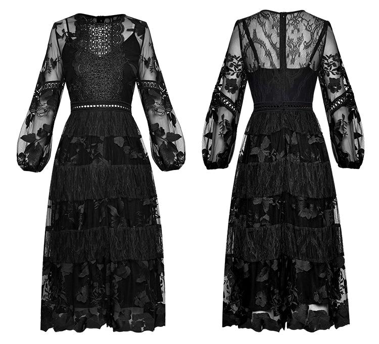 Dress Embroidery Sleeve ace 8