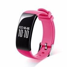 Smart Band Bluetooth Браслеты браслет Водонепроницаемый Фитнес трекер сердечного ритма Мониторы для смартфонов часы Шагомер Часы