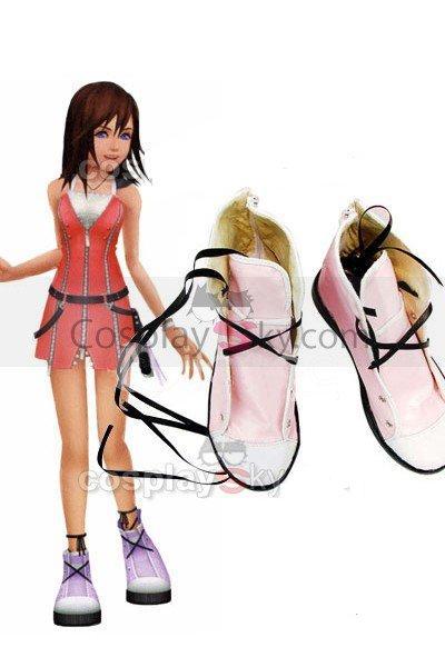Kingdom Hearts 2 Cosplay Kairi Shoes Boot Halloween Carnival Cosplay