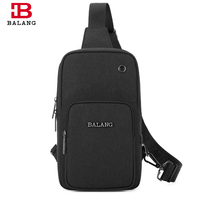 BALANG Brand Men Water Rsistant Chest Pack Teenagers Short Trip Crossbody Bag Women Fashion Sling Bags