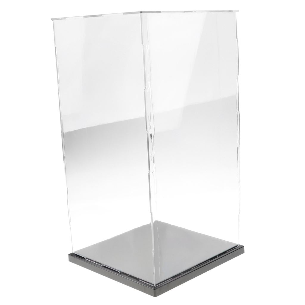 21x21x41cm Acrylic Model Display Case Dustproof Protection Display Box For Figures 3D models Product Samples Collection
