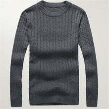 Mens Knit Sweater 2016 New O neck Casual Pullover Men Jumpers Winter Pullover Men Black Navy Red Grey 6 Colors Pull Homme