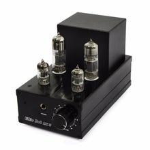 Küçük Dot MK II MK 2 Vakum Vana Tüp Kulaklık amplifikatör/Ön amplifikatör Güç AMP 6J1 X2 6N6 X2 Güncelleme sürüm