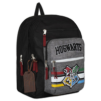 Harry Potter backpack Black canvas high quality travel large capacity Backpack Student book bag