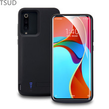 5000mah external portable wireless battery charger case for xiaomi mi 9 holder stand charging cover luxury