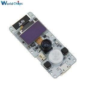 "Image 2 - ESP32 Cam ESP32 OV2640 Module Camera Dual Core Wrover Psram Wifi 0.96 ""Màn Hình OLED SSD1306 I2C BME280 Cảm Biến CP2104 cho Arduino"