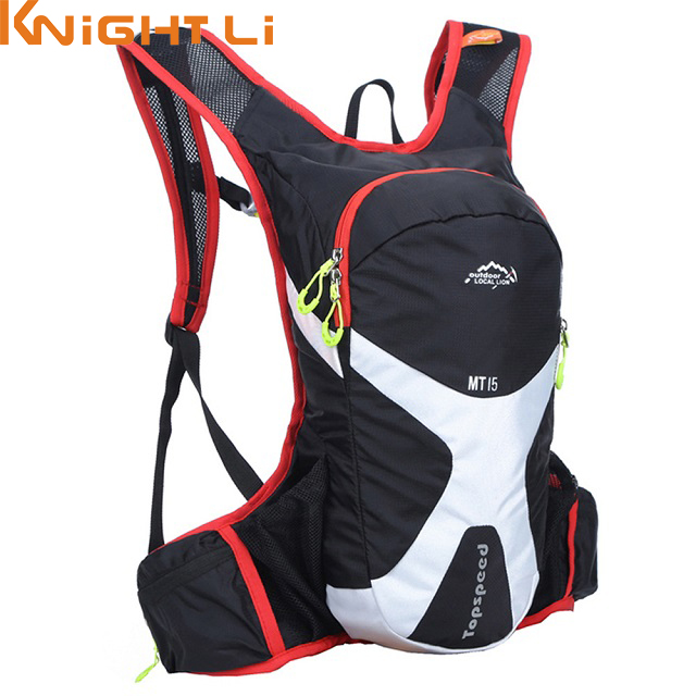 15L Professional Cycle Backpacks Ultralight Bicycle Accessories Travel Shoulder Bag Hydration Bag Pack For Water Bag 516