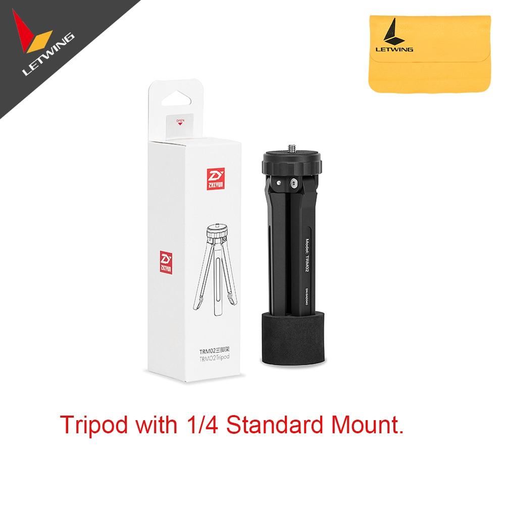 Zhiyun Original Universal Mini Tripod Monopod for Crane 2 Stabilizer Crane V2 M Smooth Q Gimbal with 14 and 38 Mount