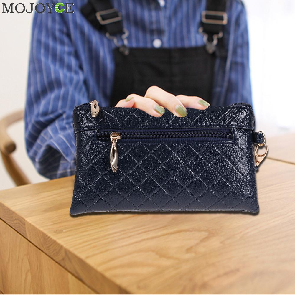 Fashion Women Leather Handbags PU Simple Long Wallet Card Phone Holder Clutch Bag Leather Wallet Luxury Brand Business Hand Bag