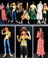 2015 13cm mini Japanese original version 8pcs/lot  one piece anime figure PVC action figure set kids toys Doll Model Collection
