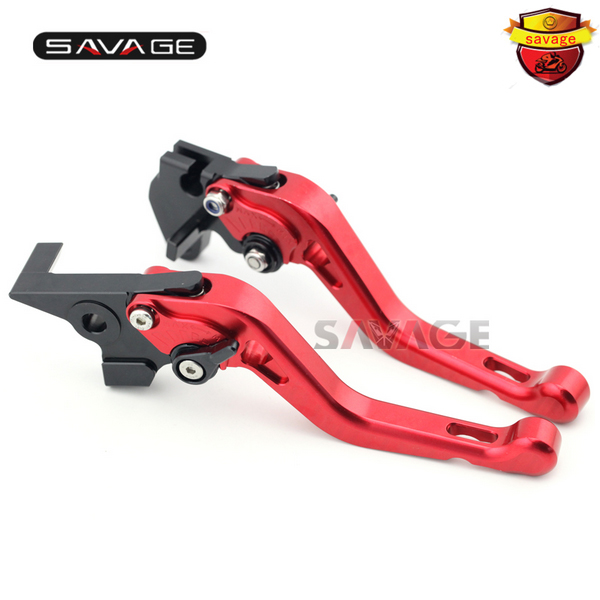 ФОТО For YAMAHA TDM 900 TDM900 2004-2015 Motorcycle Accessories CNC Aluminum Adjustable Short Brake Clutch Levers Red