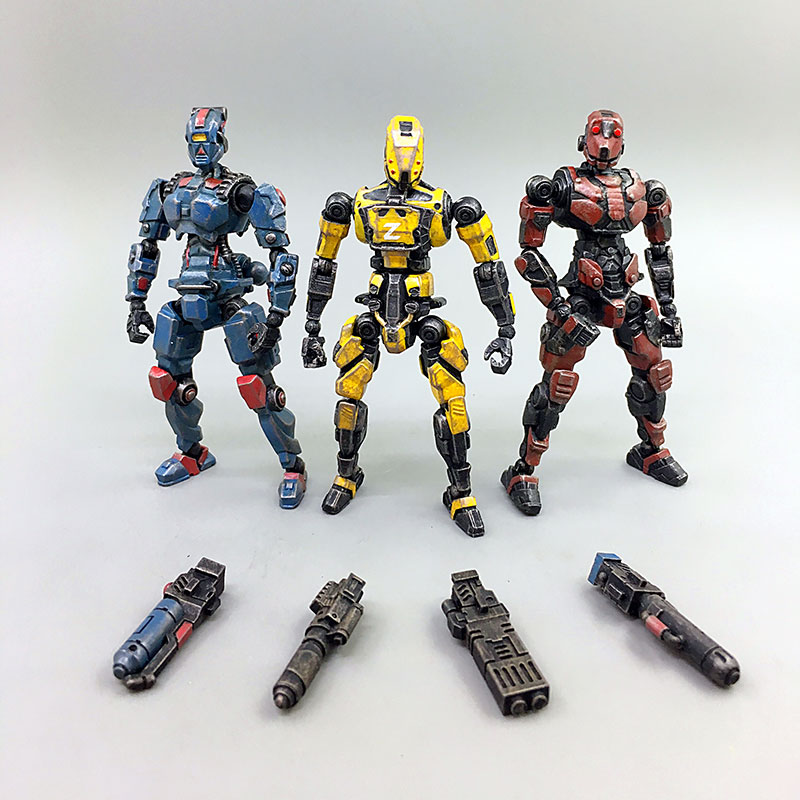 Revenge Angle Corps 1:25 Action Figures  x 3 figures JOY TOY 4th Generation