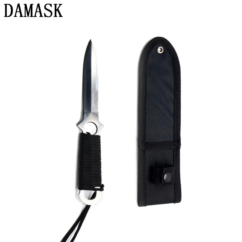 ΞMarca de Damasco cuchillo de cocina al aire libre 2 unidades set ...