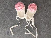 Pink Rose Walk Shoes Christening Shoes Baptism Wedding Flower Girl Shoes