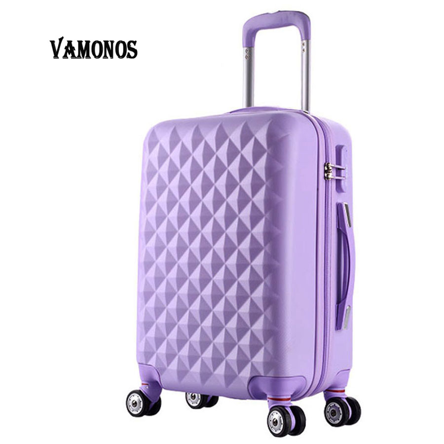 202428inch High quality Trolley suitcase luggage traveller case box Pull Rod trunk rolling spinner wheels ABS+PC boarding bag