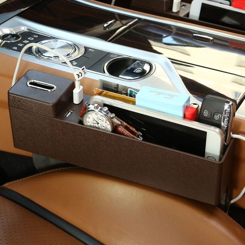 LANDROVER RANGE ROVER EVOQUE 2011/>/>/> 2 x Car Seat Pocket Catcher gap Organizer