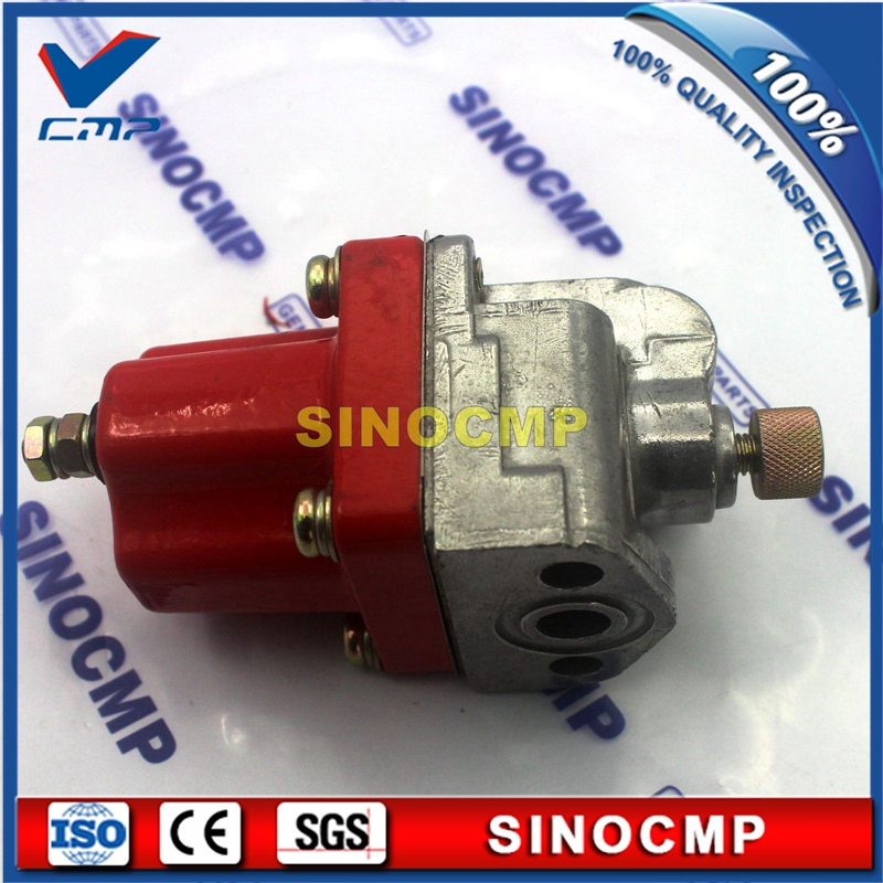 24v fuel stop solenoid switch 3018453, shut down, flameout solenoids for Cummins NTA855 K19 KT38 Heavy Equipment ...