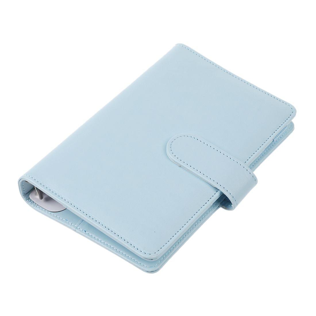 85703d386 Caderno espiral de couro a preços acessíveis Original pessoa do escritório  fichário planejador semanal/agenda organizador anel Bonito diário papelaria  A6