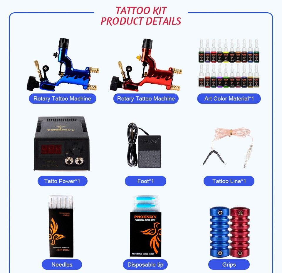 Abastecimento Grips Agulhas de Tatuagem Maquiagem Permanente Kit conjuntos