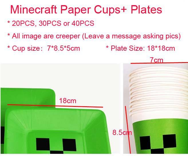 Free Shipping 20PCS 18 18cm JJ Creep Plate 7 8 5 font b Minecraft b font