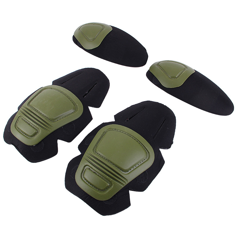 Frog Suit Kneepad Elbow Pads Army Military Tactical Gear SWAT Airsoft Paintball Combat Frog Pants Kneepads Sports Safety Support