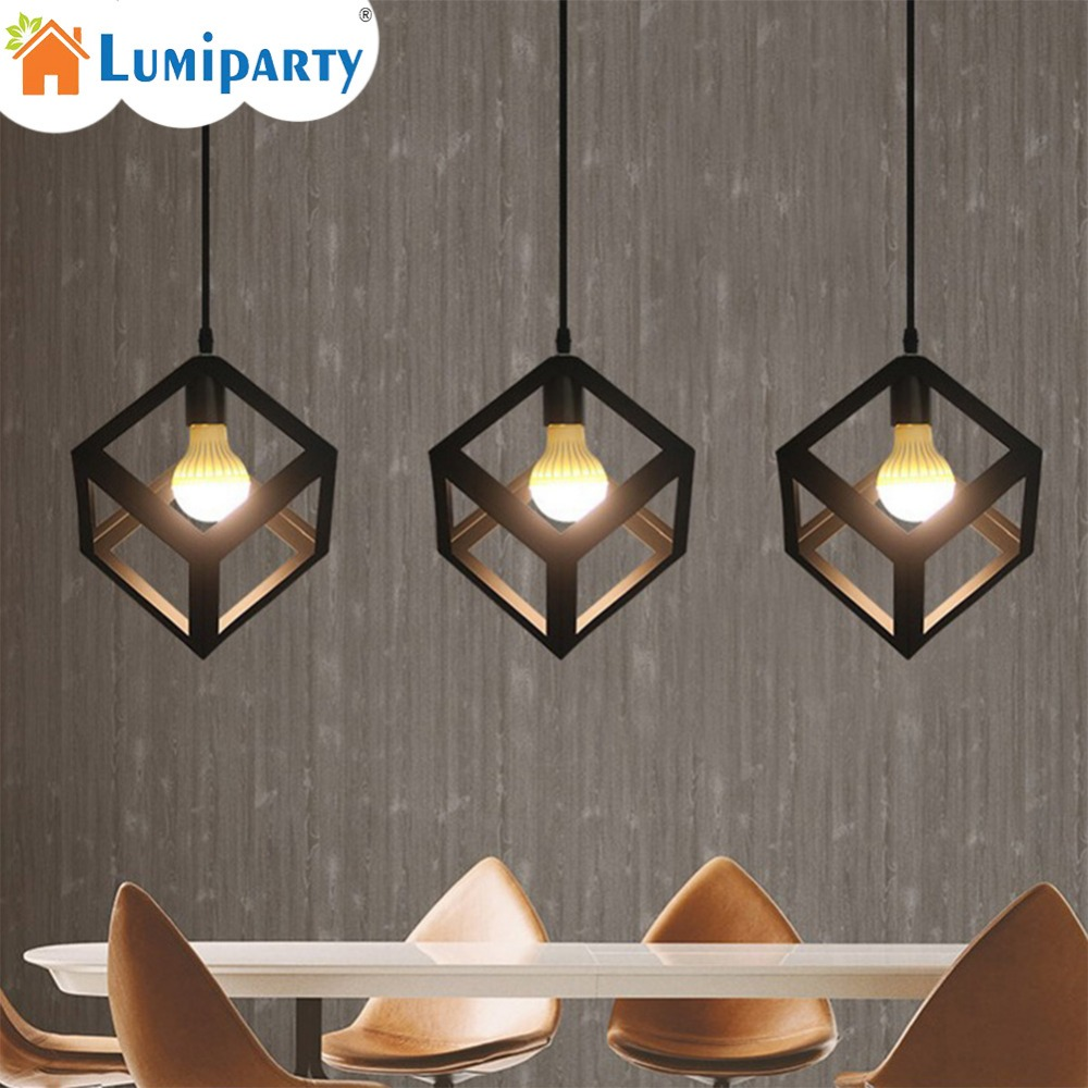 Back To Search Resultslights & Lighting Beautiful Vintage Colorful Indoor Led Pendant Lights Fixture Luminaire Cafe Bar Restaurant Loft Hanging Lamp Cube Triangle 3d Loft Retro Ceiling Lights & Fans