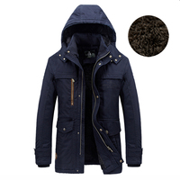 New Arrival Men S Parka Coat Fur Liner Winter Jacket Men Outerwear Brand Parka AFS JEEP