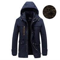 New Arrival Men S Parka Coat Fur Liner Winter Jacket Men Outerwear Brand Parka AFS JEEP