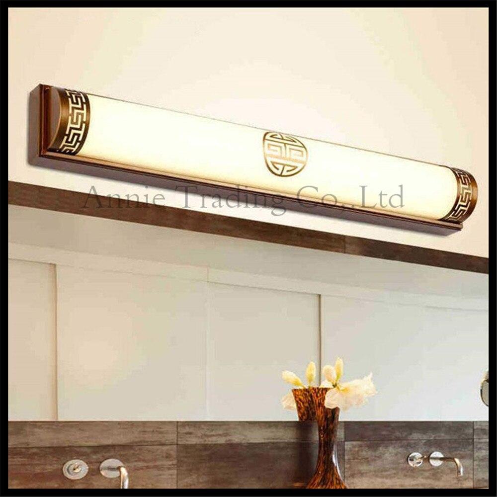 Online kopen Wholesale brons badkamer lichten uit China brons ...