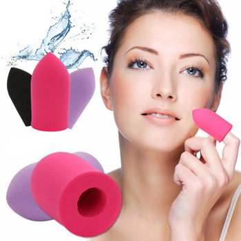 Brand New Finger Puff Flawless Makeup Fashion Foundation Powder Puff Bullet Puff Sponge Cosmetic Puff Cosmetic Puff